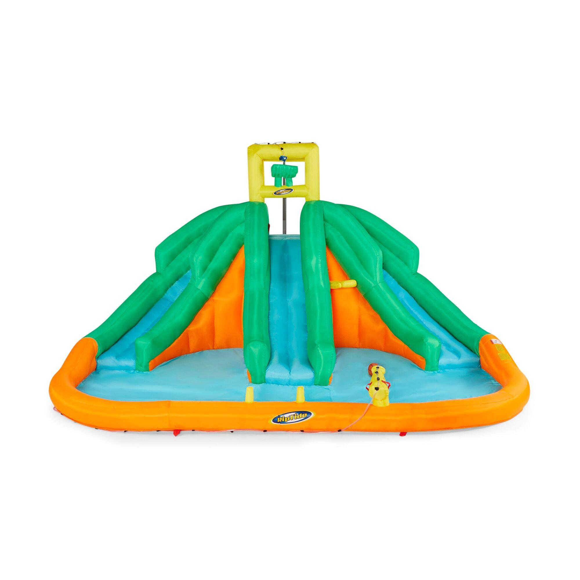 Kahuna Triple Monster Inflatable Backyard Kiddie Water Park & Slide by Kahuna