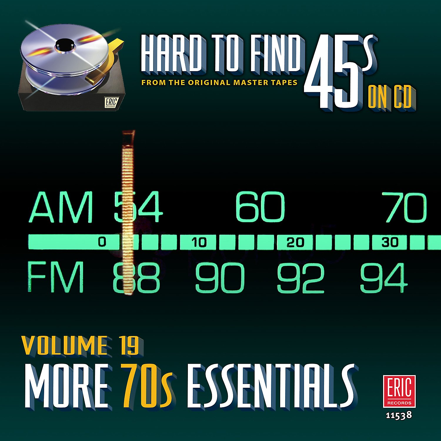 Hard To Find 45s On Cd 19 - More 70's / Various by Eric