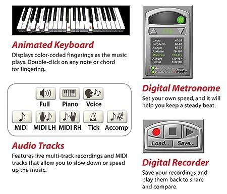 Amazon Emedia Piano Keyboard Starter Pack For Dummies 61 Key