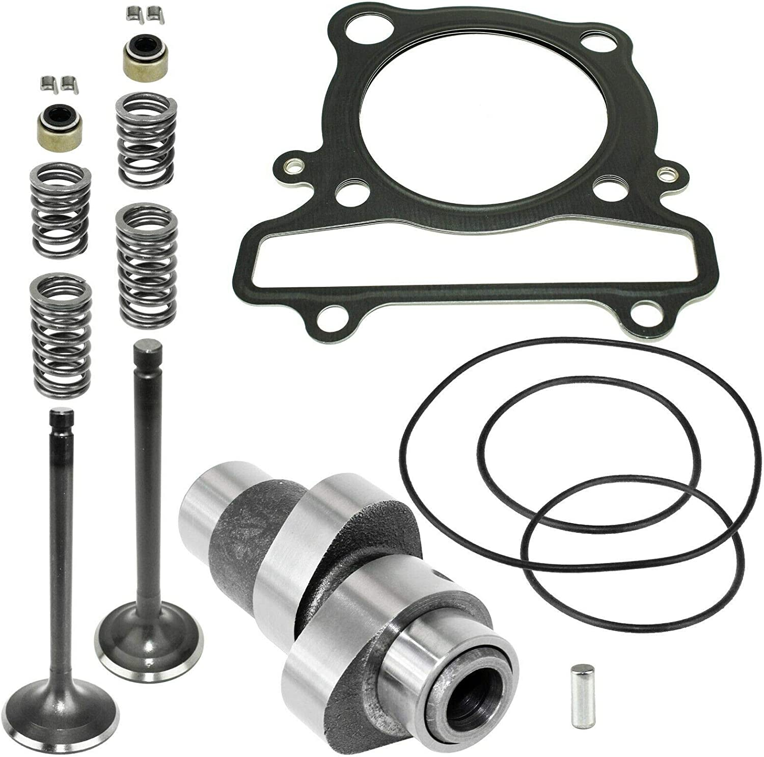 Caltric Camshaft and Cylinder Head Valve Gasket Kit Compatible With Yamaha Warrior 350 YFM350X 1987-2004