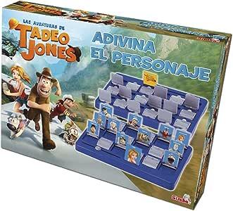 Tadeo Jones - Adivina el Personaje (Simba 5014297): Amazon.es: Juguetes y juegos