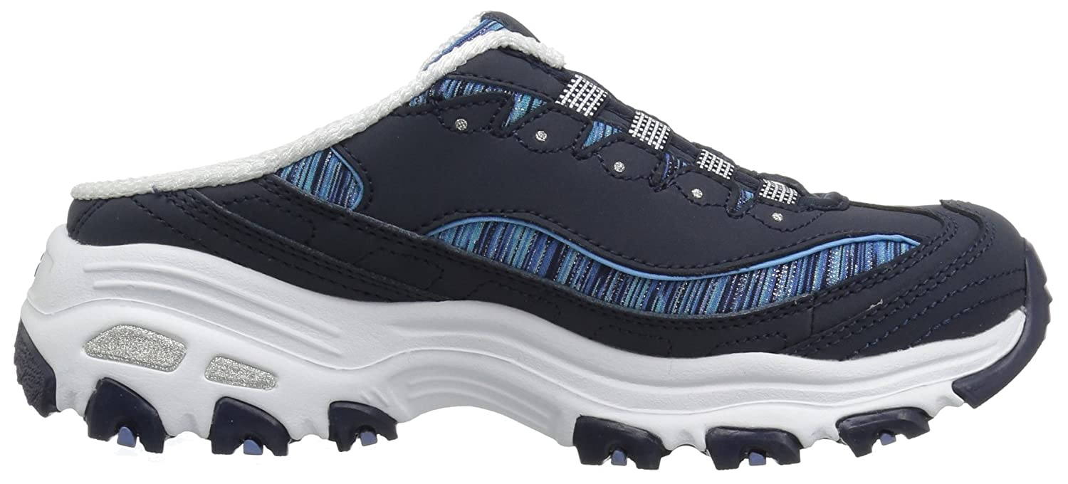 Skechers Women's D'Lites-Spark Interest Sneaker B07B488DC5 11 B(M) US|Navy Blue