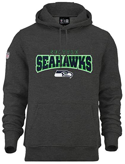 ddee513ce7a70 New Era Hombres Ropa superior   Sudadera NFL Ultra Fan Seattle Seahawks   Amazon.es  Ropa y accesorios
