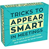 Tricks to Appear Smart in Meetings 2021 Day-to-Day Calendar