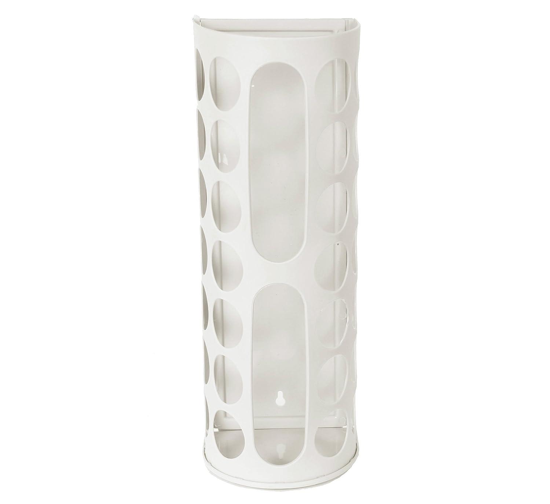Ybmhome Grocery Bag Holder Storage Plastic Shopping Bags Saver Ba150735 (1, white) by Ybmhome B01BMUKUJ2