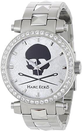 Marc Ecko Reloj Análogo clásico para Hombre de Cuarzo con Correa en Acero Inoxidable E15083M1: Amazon.es: Relojes