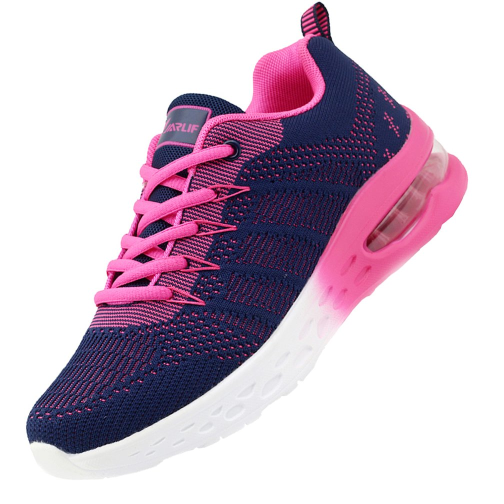 JARLIF Women's Athletic Running Sneakers Air Fitness Sport Workout Gym Tennis Walking Shoes Violet 10 B(M) US