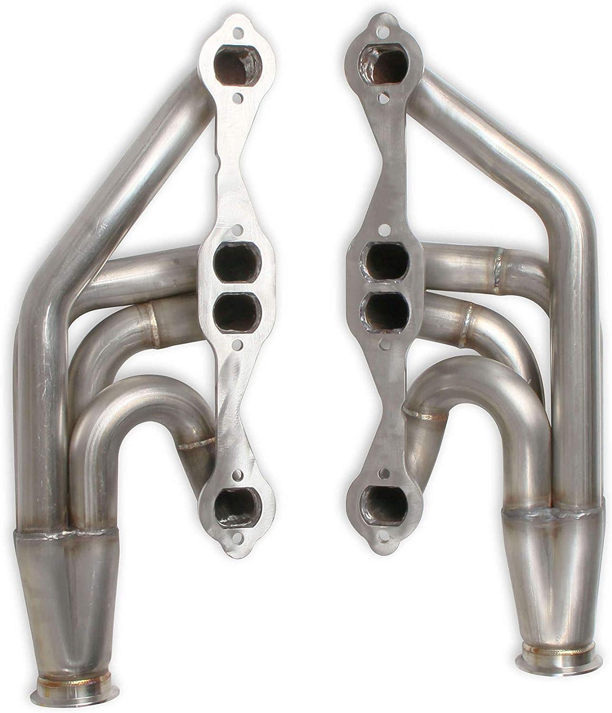 Flowtech 11572FLT SBC Turbo Headers Natural Finish