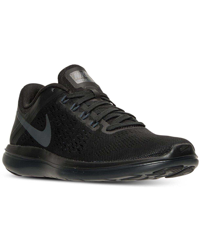 NIKE Women's Flex 2016 Rn Running Shoes B06X9KCR77 7.5 B(M) US|Black/Anthracite