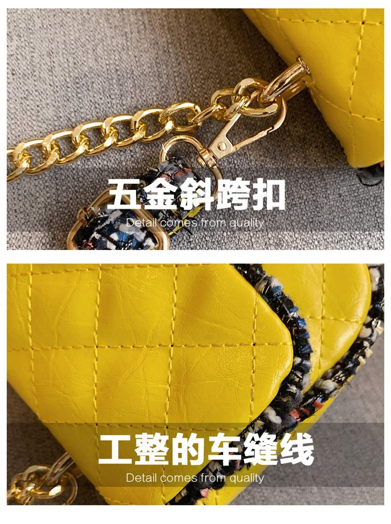 Color : Black, Size : 12206cm OUSHINA New 2019 High Sense French Niche Net Red Pouch Texture Messenger Bag Wild Shoulder Bag