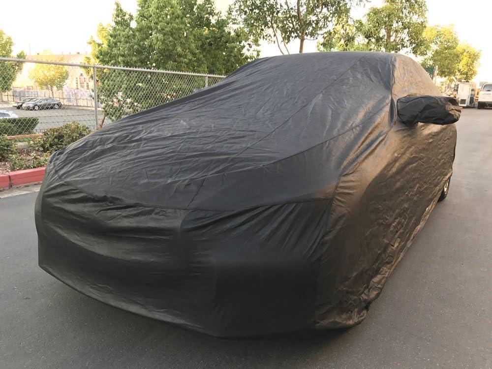 Xtrashield Custom Fit 2014-2019 Infiniti Q50 Car Cover Black Covers