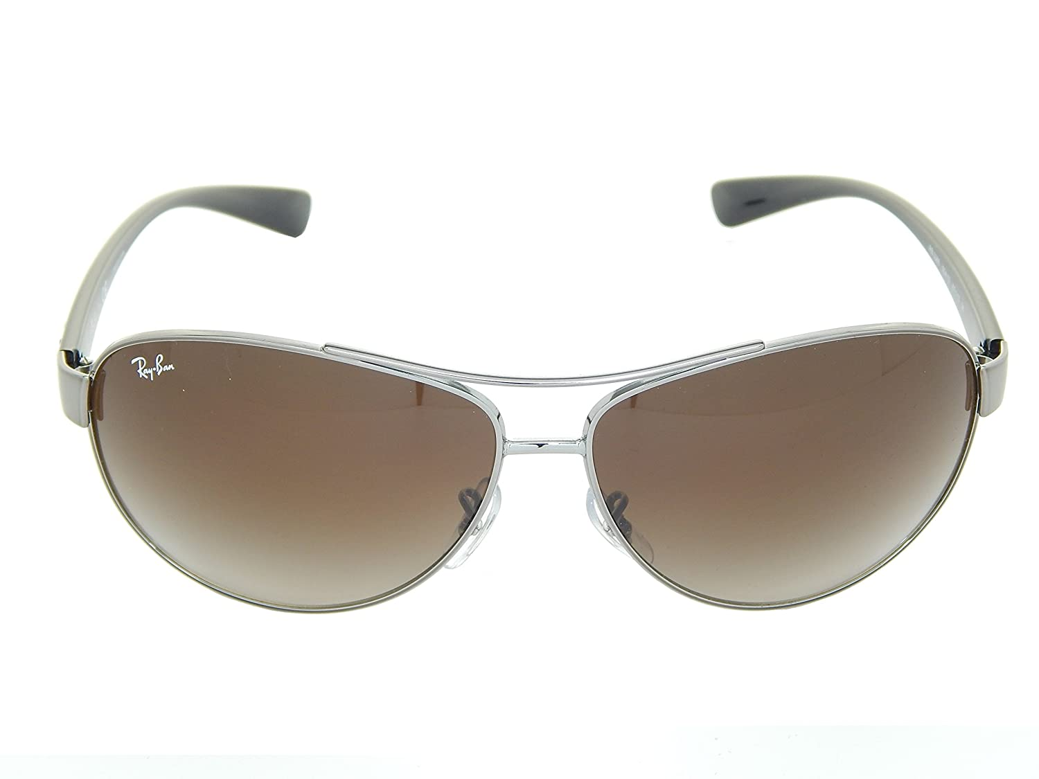 Ray Ban RB3386 004/13 Gunmetal/ Brown Gradient 67mm Sunglasses