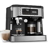 De'Longhi Combinación de cafetera y máquina de café especial de todo en uno + Máquina de leche ajustable avanzada para…