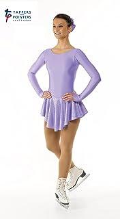 Tappers & Pointers GYM4 y lámina de holograma nailon y licra para niños Skate vestido