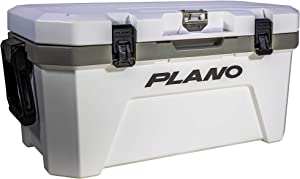 Plano Frost Cooler | Heavy-Duty Insulated Cooler Keeps Ice Up to 5 Days | for Tailgating, Camping and Outdoor Activities