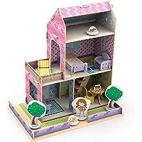 Casinha de Madeira Little House Verão Xalingo Rosa