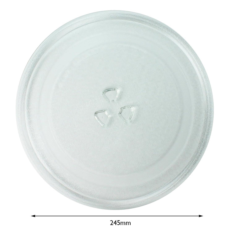 Spares2go cristal Tocadiscos placa para Bosch Horno de ...