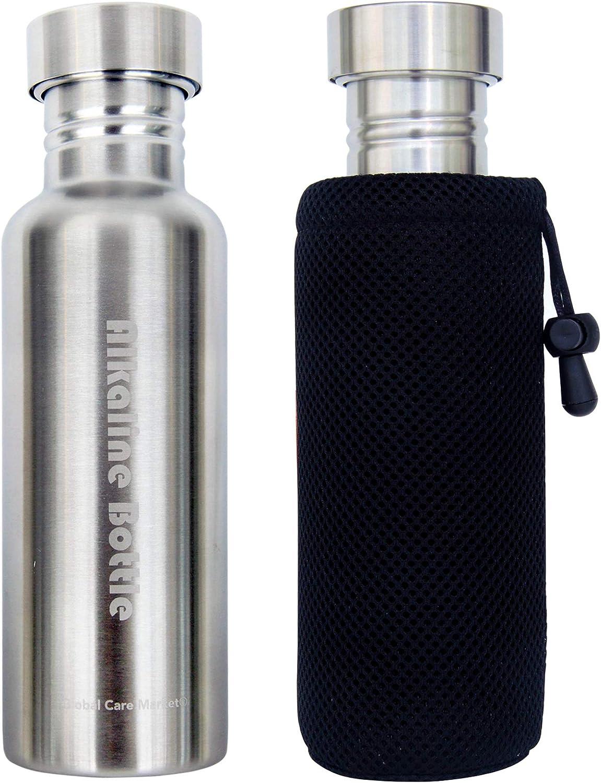 1 Gal Gallon Quality Plastic Bottle Handle Cap Drinking Alkaline Water Black