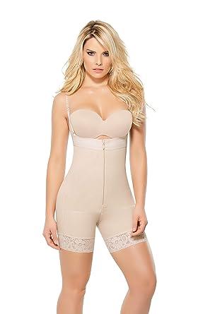 293005758e Ann Chery 1044N TITI Strapless High Compression Bodysuit at Amazon ...