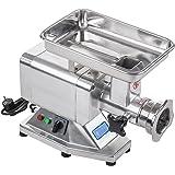 Fleischwolf Wurstmaschine Fleischmaschine (elektrisch, 120kg/h, 850 W, 2 Lochscheiben 5/8 mm, PRO-Serie, Edelstahl) Royal Catering