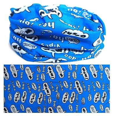 4 Seasons NECK Headband Bandana MULTI SCARF WARMER USE TUBE MASK CAP - MS 100