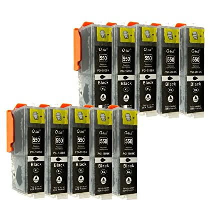 10 Cartuchos de impresora de tinta para Canon Pixma iP7250 ...