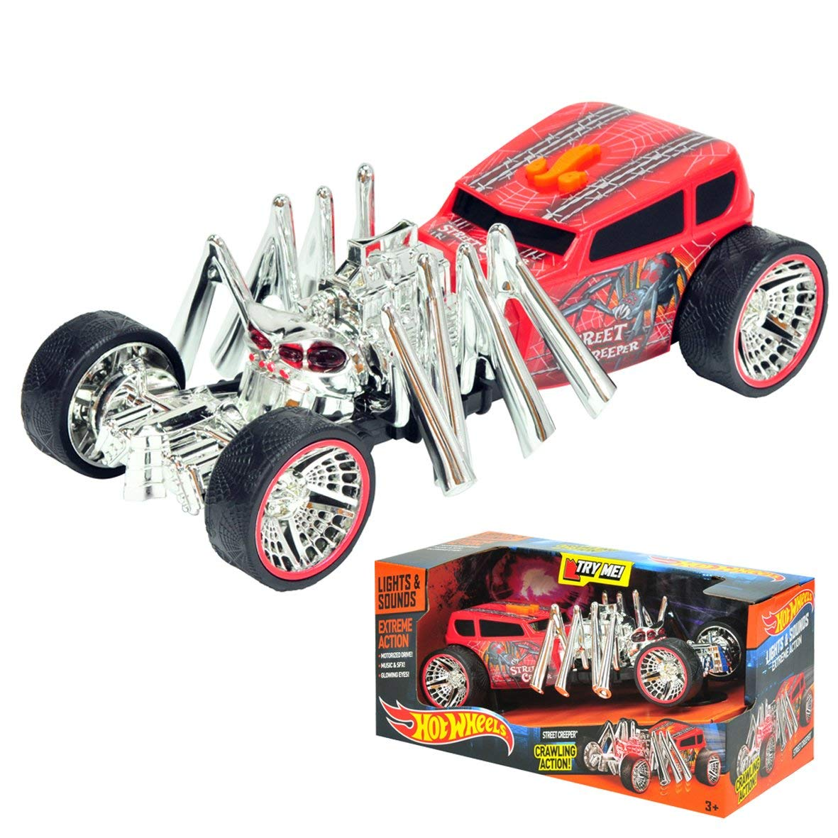 Toy State - Hot Wheels - Extreme Action - Light and Sound Steet Creeper   B00IFUFLXI