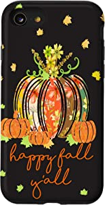 iPhone SE (2020) / 7 / 8 It's Fall Y'all Fall-Pumpkin Spice -Fall Decor Floral Gift Case