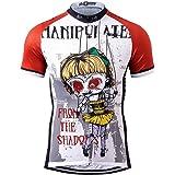 Thriller Rider Sports サイクルジャージ メンズ 男性自転車運動服装半袖 Manipuiated