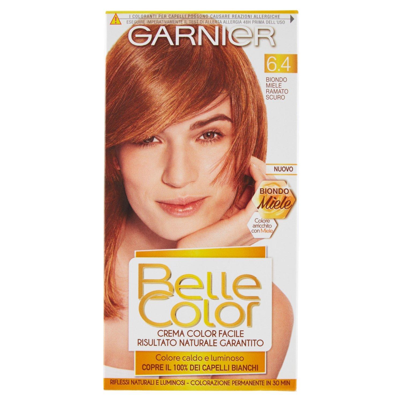 Garnier Colorazione Permanente Per Capelli Belle Color Risultato Naturale E Luminoso 64 Biondo Miele Ramato Scuro