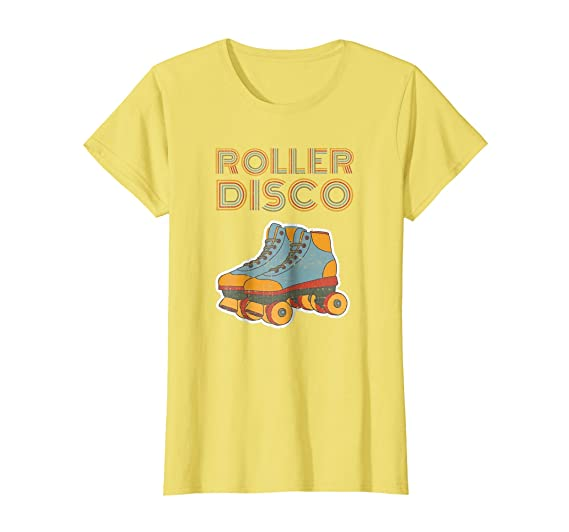 70s Costumes: Disco Costumes, Hippie Outfits Cool Vintage Roller Disco Retro 70s and 80s party T-shirt $19.99 AT vintagedancer.com