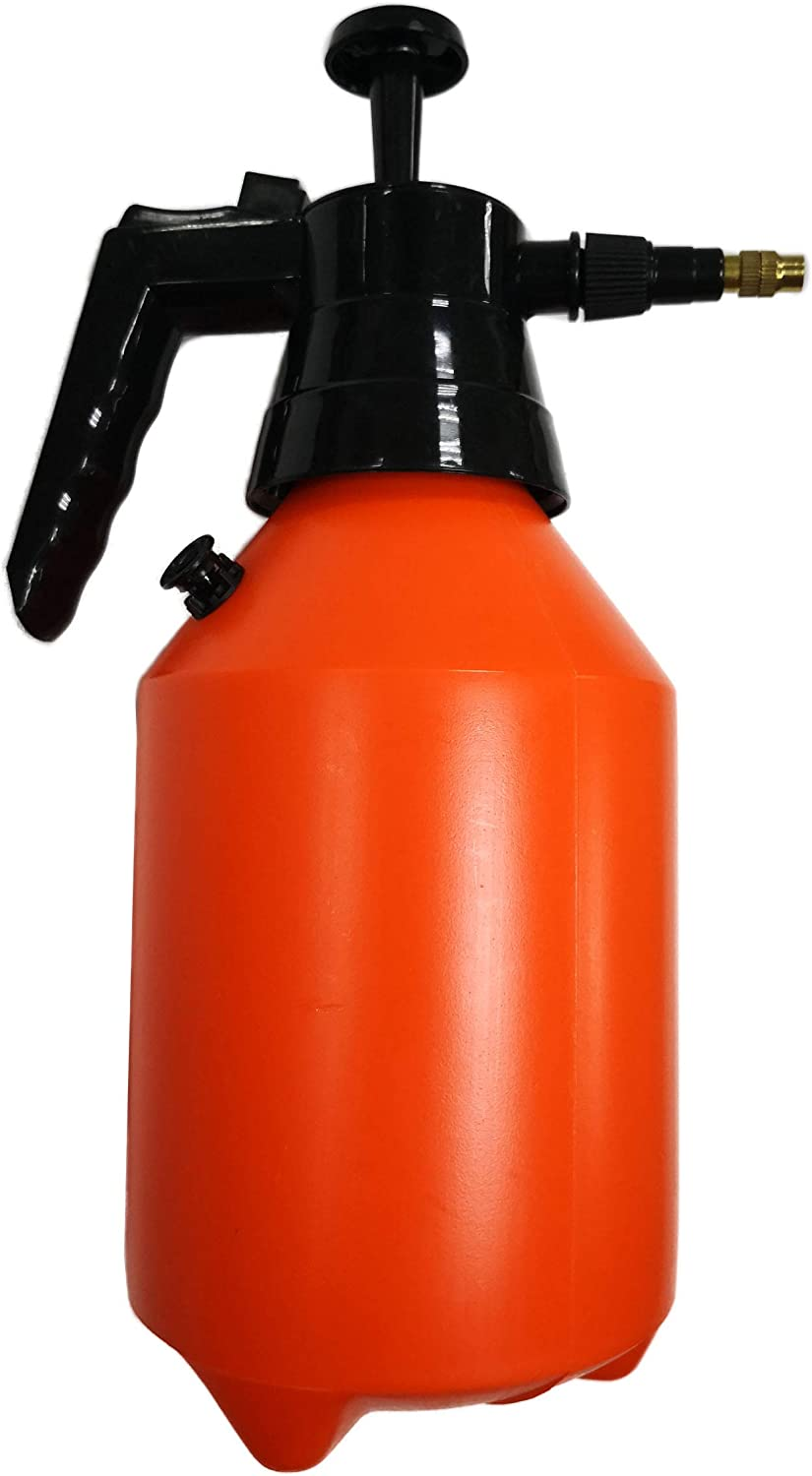 Polyte One Hand Pressure Sprayer for Lawn, Garden, Pest Control, 50 oz / 1.5 Liter, 1 Pack