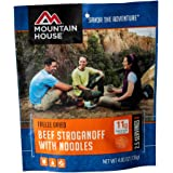 Mountain House Beef Stroganoff with Noodles   Freeze Dried Backpacking & Camping Food