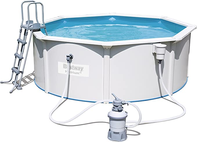 Bestway Best Way - Piscina de Chapa hydrium 360 x 122 cm + ...