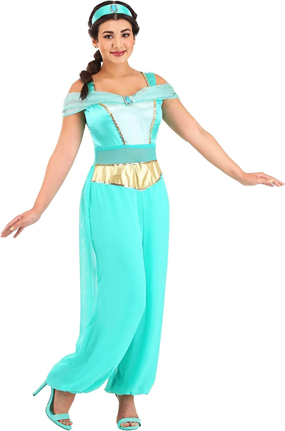 Disguise Women S Jasmine Deluxe Costume Clothing