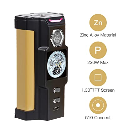 ecigarrillos ecig box mod vape profesional bateria cigarrillo electronico de vapor sin nicotina con liquido liquido