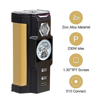 ... electronico de vapor sin nicotina con liquido liquido electronic cigarette vapeador cigarro electronico vapor: Amazon.es: Salud y cuidado personal