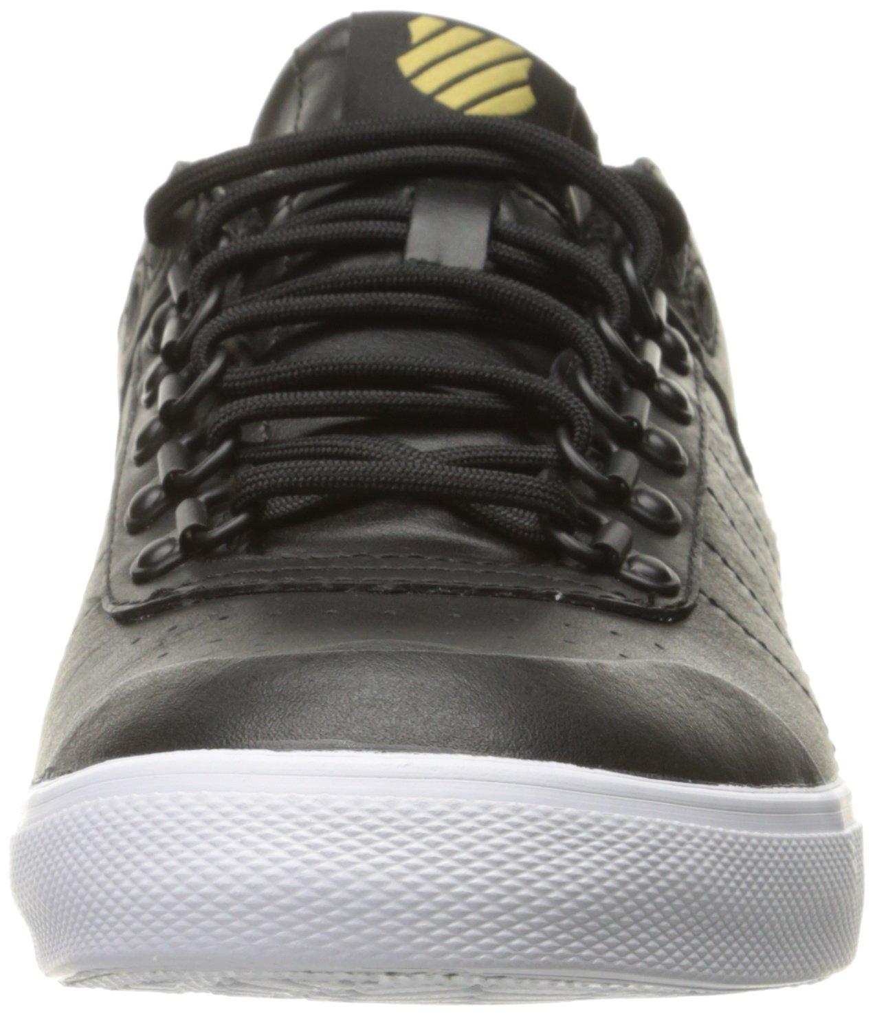 K-Swiss Women's Gstaad Neu Sleek Fashion Sneaker B01K8UBETM 8.5 M US Black/Gold/Eggnog