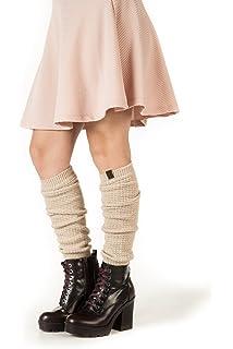 905119668 Marino Long Leg Warmers For Women - Winter Knee High Knit Leg Warmer Socks