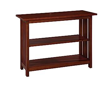 Amazon.com: Alaterre Artisan Under Window Bookshelf, Espresso ...