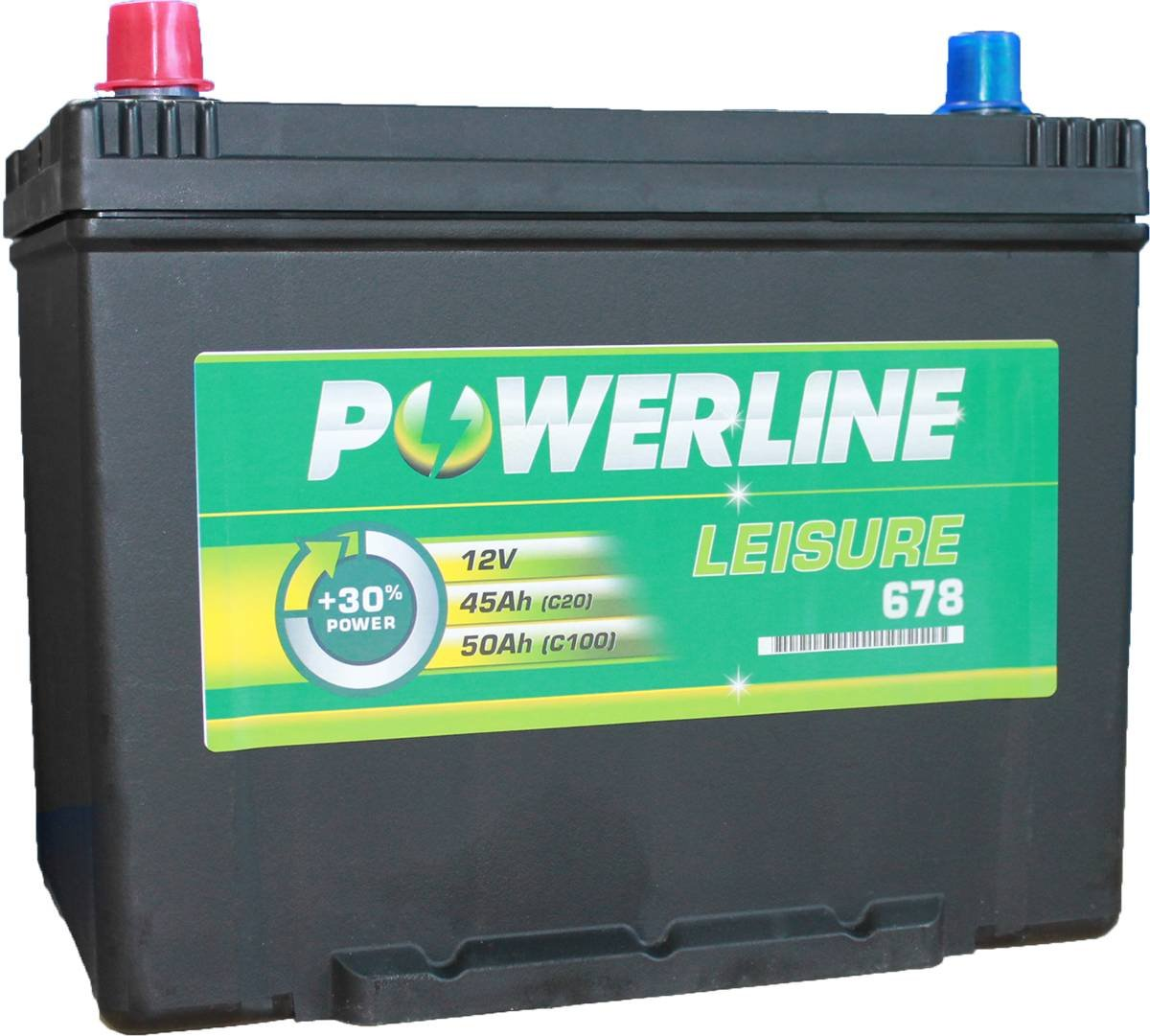 Leisure Battery 678 - Powerline Caravan/Leisure/Marine Battery