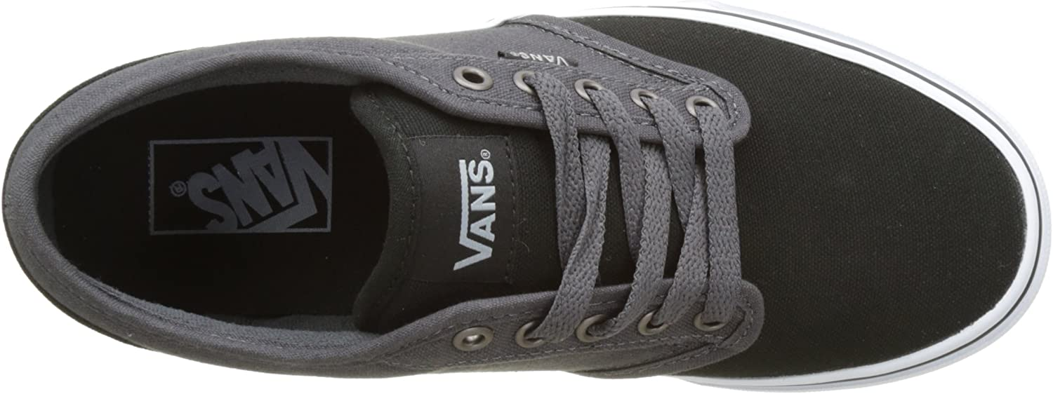 Vans MN Atwood, Sneakers Basses Homme Noir 2 Tone