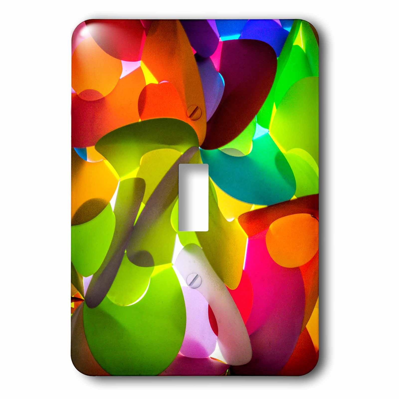 3dRose Danita Delimont - Abstracts - Thailand, Chiang Mai, Thai Market Place - Light Switch Covers - single toggle switch (lsp_276975_1)