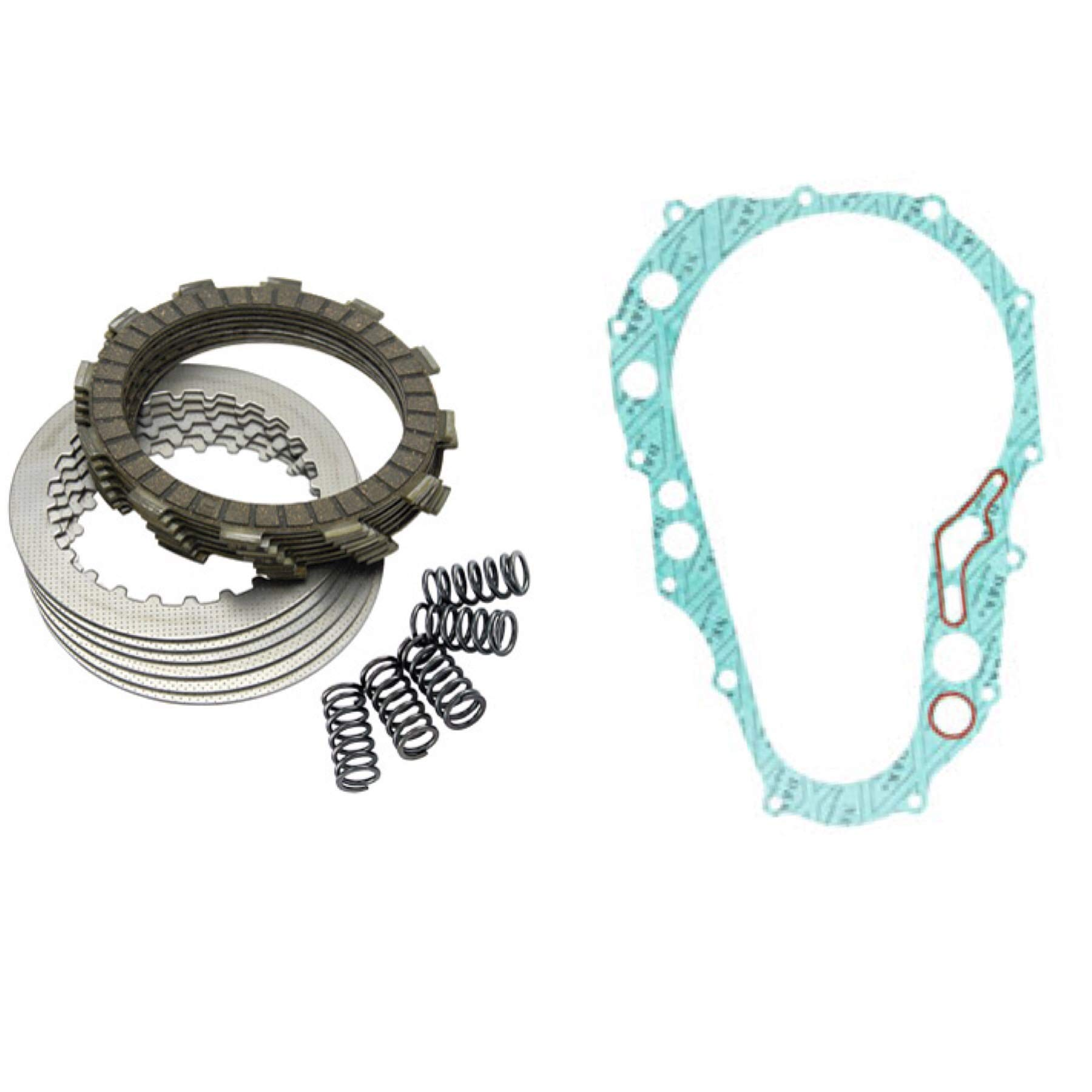 Tusk Heavy Duty Clutch Kit with Springs and Clutch Cover Gasket - Fits: YAMAHA RAPTOR 660 2001-2005 by -Tusk-