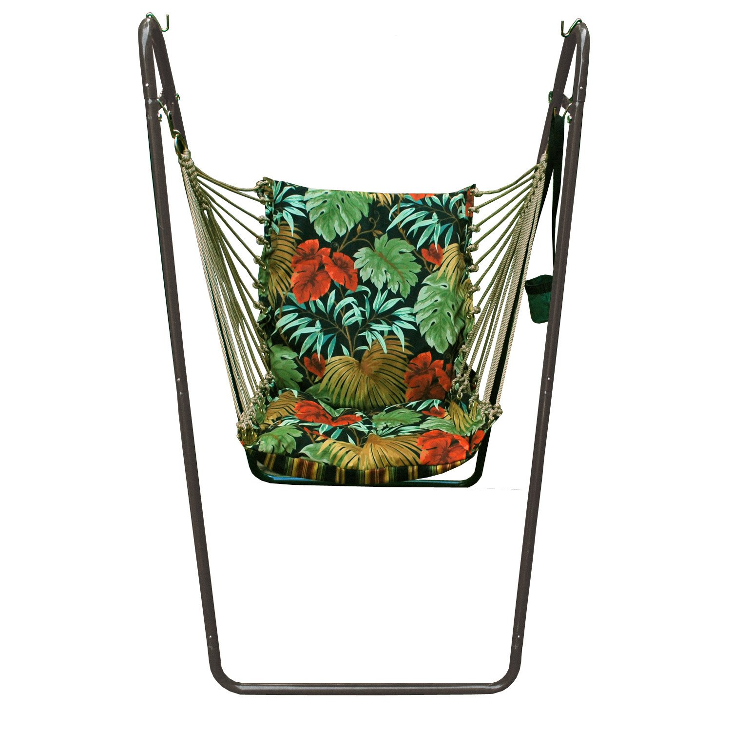 amazon     algoma 1525 6683br swing chair  bination with brass colored stand   camping chairs   garden  u0026 outdoor amazon     algoma 1525 6683br swing chair  bination with brass      rh   amazon