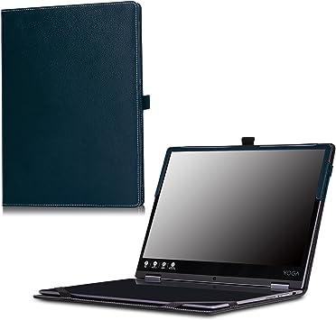 MoKo Lenovo Yoga A12 Case, Ultra Compact Slim Folio Leather Cover Case for Lenovo Yoga A12 HD 12.2