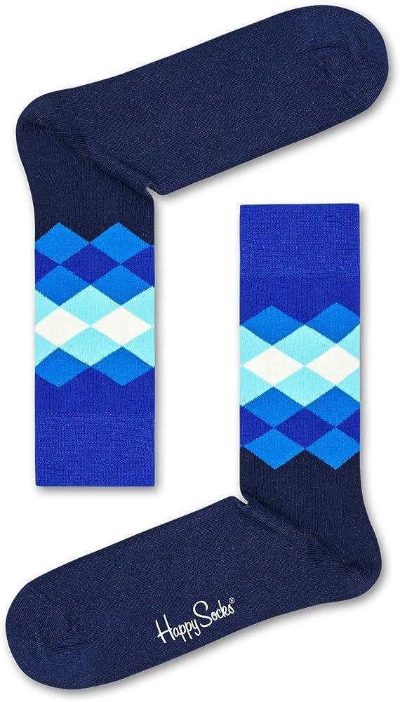 Happy Socks Mens Athletic Peace Sign Socks ~ Size 10-13 Trendy Socks! FUN