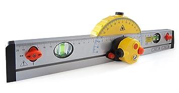 Laser Entfernungsmesser Mit Wasserwaage : Laser wasserwaage mm amazon baumarkt
