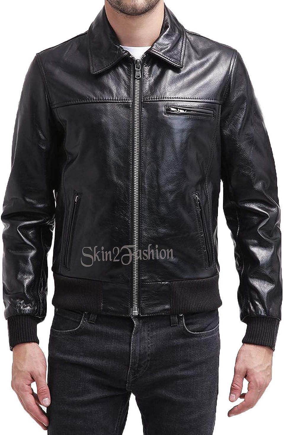 Skin2Fashion Mens Leather Jackets 274