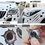 1797 Bullet Holes Stickers Decals Car 3D Fade Funny